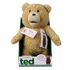Ted 16-Inch R-Rated Talking PlusTeddy Bear w/ Moving Mouth テッド テディベア おしゃべ...