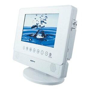 BEX 防水 お風呂 テレビ(ワンセグ)&DVDプレーヤー 液晶7インチ ホワイト BWDO-710WH [売れ筋]