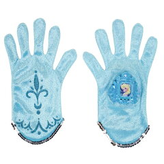 手袋のボタンを押すとテーマ曲「let it go」が流れる♪ アナと雪の女王 エルサのマジックミュ...