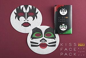 KISSフェイスパック〔ジーン・シモンズ&エリック・シンガー〕 フェイスマスク【ポイント20倍!...