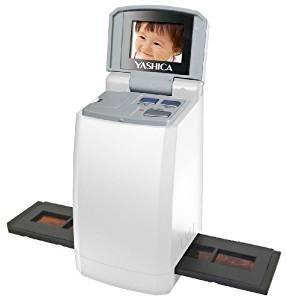 YASHICA 2.4インチ液晶カラーモニター搭載 デジタルフィルムスキャナー FS-501 26073 【ネガ→データ化】