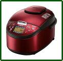 HITACHI圧力スチームIH炊飯器5.5合レッドRZ-SG10J-R