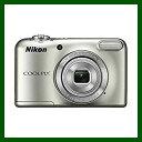 ニコン Nikon 乾電池式 コンパクト デジタルカメラ COOLPIX クールピクス L31 シルバー コンデジ【送料無料】