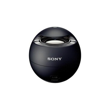 ソニー SONY ワイヤレスポータブルスピーカー SRS-X1 : 防水/Bluetooth対応 ブラック SRS-X1 B【送料無料】