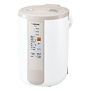象印 加湿器 スチーム式 加湿量480mL/h ベージュ EE-RL50-CA