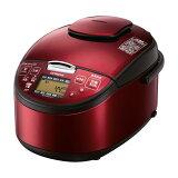 【中古・説明書なし】HITACHI 圧力スチームIH炊飯器 5.5合 レッド RZ-SG10J-R