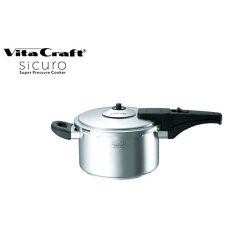 VitaCraftsicuro(ビタクラフトシクロ)スーパー圧力鍋3.5L0708