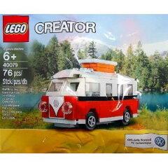 スマホから購入でポイント2倍!9/12 (日)22:59までLego Creator Volkswagen T1 Camper Van 4007...
