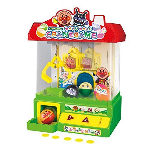 アンパンマン NEWわくわくクレーンゲーム おもちゃ 玩具 知育 遊具 勉強 知育玩具 男の子 女の子 プレゼント 誕生日 子供 こども画像