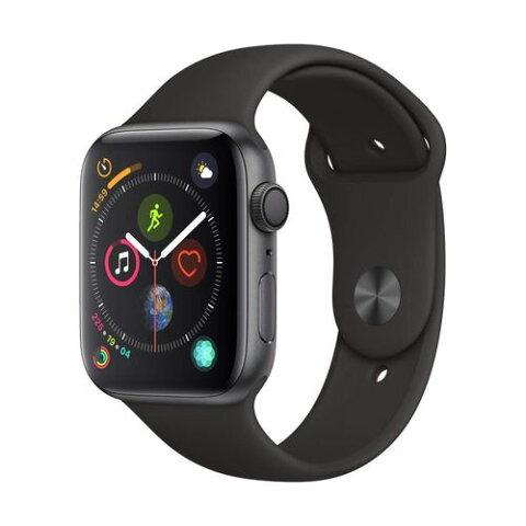 Apple Watch Series 4 44mm グレイアルミ ブラックスポーツ GPS