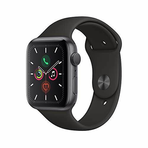 5月10日 全商品3倍 AppleWatchSeries5(GPSモデル)-44mmスペースグレイアルミニウムケースとブラック