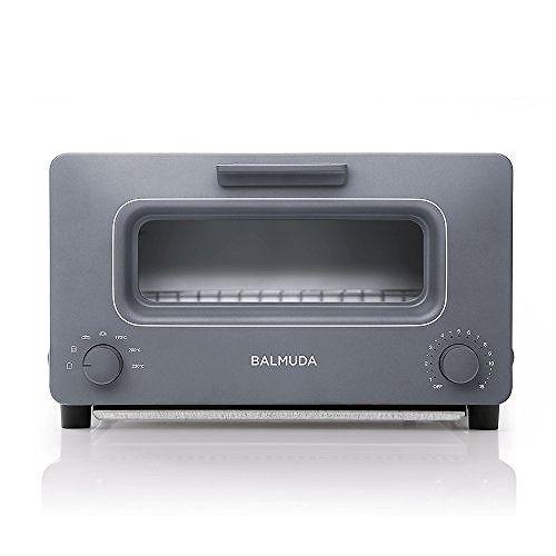 【4月20日限定 全商品ポイント3倍】バルミューダ スチームオーブントースター BALMUDA The Toaster K01E-GW(グレー) オーブントースター オーブン トースト おしゃれ スタイリッシュ シンプル パン焼き パン 朝食 家電 調理家電 新生活 プレゼント