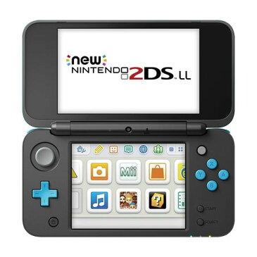 Nintendo ゲーム機本体 NEW ニンテンドー 2DS LL ブラック/ターコイス