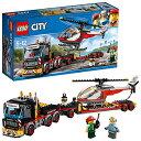 レゴ(LEGO) シティ 巨大貨物輸送車とヘリコプター 60183 ブロック おもちゃ