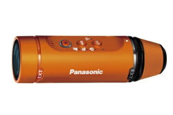 PanasonicウェアラブルカメラオレンジHX-A1H-D