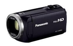 PanasonicHDビデオカメラV360M16GB高倍率90倍ズームブラックHC-V360M-K
