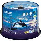 TDK 録画用ブルーレイディスク ハードコート仕様 BD-R 25GB 1-4倍速 ホワイトワイドプ...