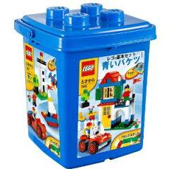 レゴ 基本セット 青いバケツ (ブロックはずし付き) 7615【