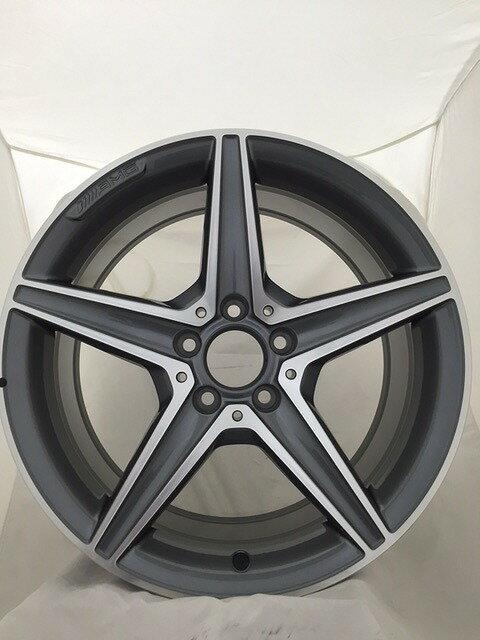 Mercedes-Benz Cクラス(W205)AMG スポークホイール リア用アルミホイール 8.5J×18インチ20540112007X21