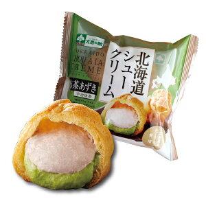 北海道シュー抹茶あずき包装