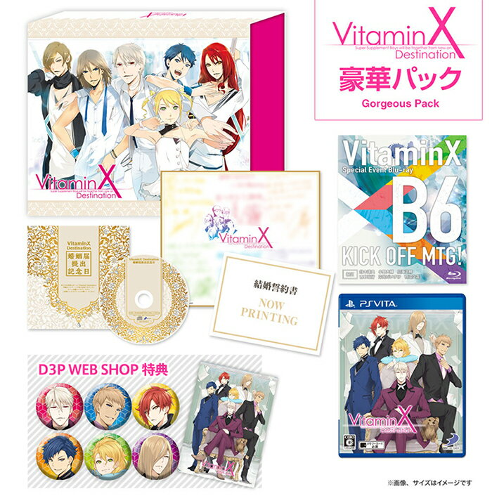 【PS Vita】VitaminX Destination豪華パック