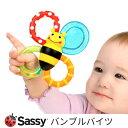 歯固め サッシー バンブルバイツ 赤ちゃん おもちゃ ラトル sassy はがため 歯がため ひんやり色々な感触 みつばち 生え始め 冷蔵庫で冷やせる 色 ベビー かわいい おしゃれ おすすめ シリコン いつまで 0歳 3ヶ月 6ヶ月 7ヶ月 8ヶ月 9ヶ月 10ヶ月 11ヶ月 1歳 ポイント消化