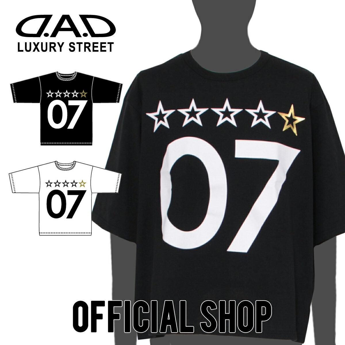 トップス, Tシャツ・カットソー DAD D.A.D LUXURY STREET T DK0042 GARSON