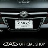 D.A.D(GARSON/ギャルソン)クリスタルライセンスフレームリアモデル【クローム】JAN4560318724051