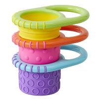 Sassyサッシーにぎにぎカップ|プレゼントギフトおもちゃお風呂水遊びカラフル男の子女の子プチギフト出産祝いお祝い6ヶ月1歳ベビー