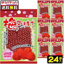【ゆうパケット便】【送料無料】【オリオン製菓】梅の気持ち×24袋