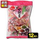 【送料無料】【でん六】350円 甘納豆テトラ235g(6袋入×2ケース) 1