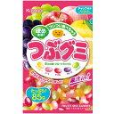 【春日井製菓】120円 つぶグミ〈フルーツミックス〉85g×(6袋入)