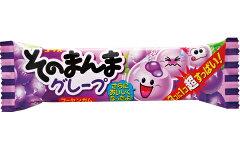 【駄菓子】30円 そのまんまグレープフーセンガム(20個入)
