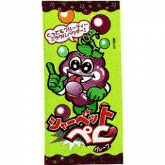 【駄菓子】30円 シャーベットペロ グレープ味(30個入)