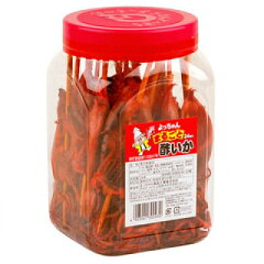 【懐かしのポット駄菓子】よっちゃんまるごと酢いか(24本入)【駄菓子】