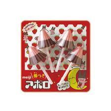 【明治】100円 棒つきアポロ4本(10個入)