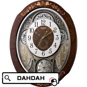 【ポイント20倍】正規品 4MN521RH06 リズム時計工業 Small World 掛け時計:腕時計 Chronostaff DAH DAH