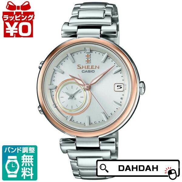 【クーポン利用で3000円OFF】正規品 CASIO カシオ SHB-100SG-7AJF SHEEN CASIO レディース腕時計:腕時計 Chronostaff DAH DAH