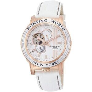 正規品HUNTINGWORLDハンティングワールド自動巻きオートマチックHW993WH送料無料メンズ腕時計