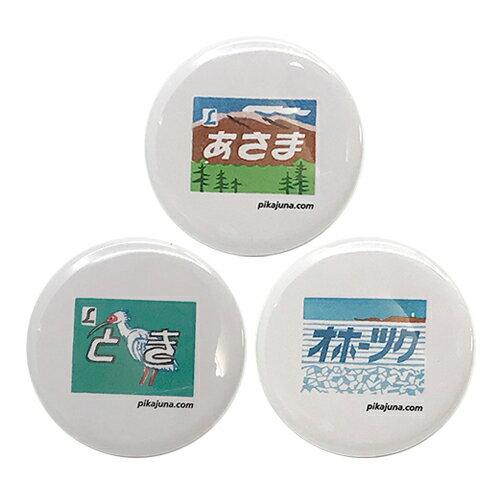 L鉄 エル鉄 L特急 エル特急 ヘッドマーク ピカユナ製作所 缶バッチ 缶バッジ