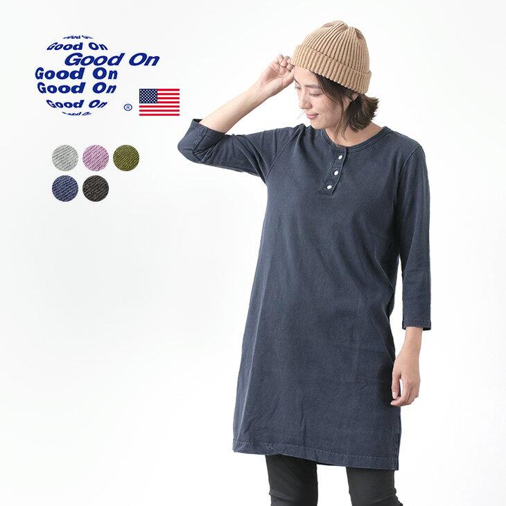 レディースファッション, ワンピース 30OFFGOOD ON T USA HENLEY TEE ONE PIECE