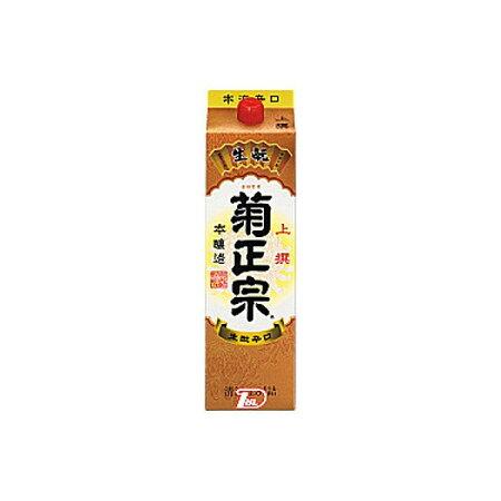 本醸造上撰菊正宗酒造1.8L(1800ml)パック6本入り