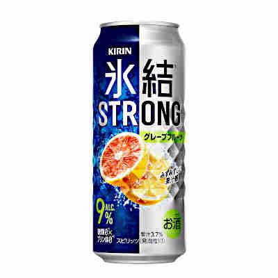 【送料無料1ケース】氷結ストロング グレープフルーツ キリン 500ml缶 24本入り