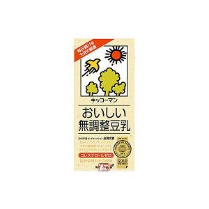 【送料無料1ケース】おいしい無調整豆乳 キッコーマン 1000ml 6本入★北海道、沖縄のみ別途送料が必要となります