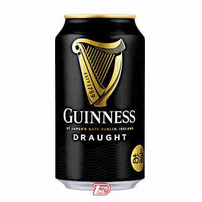 【3ケース】ドラフト ギネスビール 330ml缶 24本×3