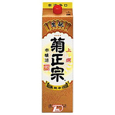 【2ケース】本醸造上撰菊正宗酒造1.8L(1800ml)パック6本×2