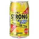【2ケース】ストロング チューハイタイムゼロ レモン サンガリア 340ml 24本×2