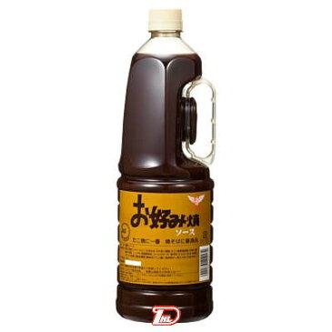 【2ケース】JAS標準 お好み焼ソース ハグルマ 1.8L 6本×2