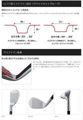 【特注カスタムクラブ】ミズノ(MIZUNO)MPR5-Wウェッジエアロテックスチールファイバーシャフト