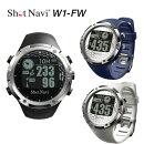 【送料無料】ショットナビW1-FW(ゴルフナビGPS)ShoNaviW1-FW腕時計型GPSゴルフナビ
